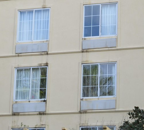 La Quinta Inn & Suites Orlando Convention Center : Outside needs a good cleaning and re-paint