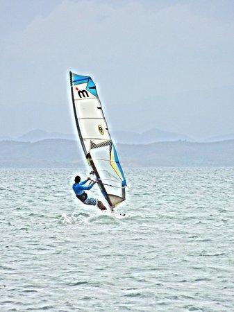 Playa El Yaque: sport acquatici!