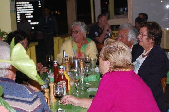 Ein gelungener Abend im cafe Breeze