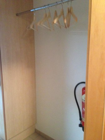 Golden Circle Apartments: Closet in the front entry