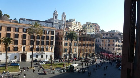 Piazza di Spagna Suites: view from my window
