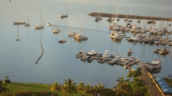 Royal Hotel: View of the yacht basin