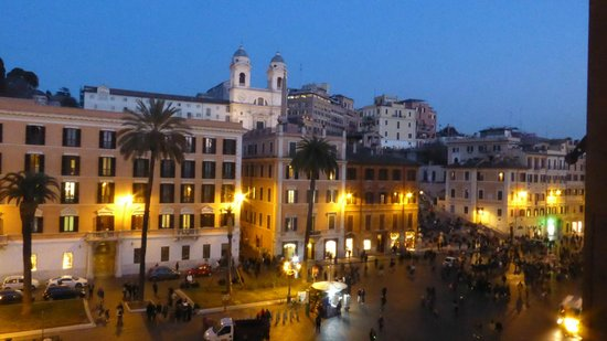 Piazza di Spagna Suites: the best view in Rome