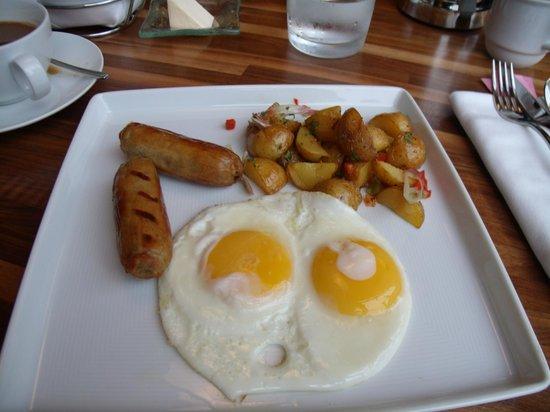 Four Seasons Hotel San Francisco: 36 dollar eggs