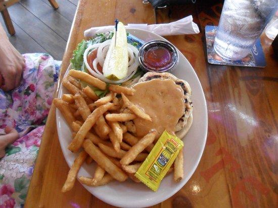 Yucatan Beach Stand Bar : menù hamburgher
