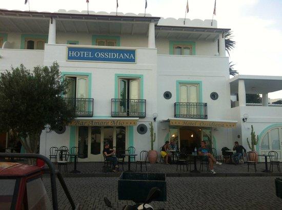 Hotel Ossidiana Stromboli: ossidiana