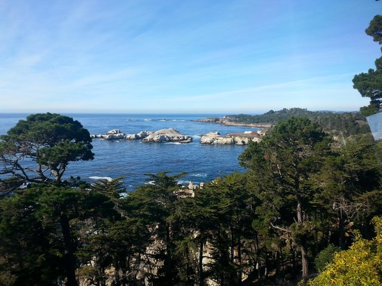 Hyatt Residence Club Carmel, Highlands Inn : View of Point Lobos from Sunset Lounge