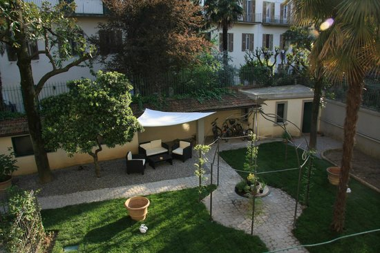 Gourmet B&B Villa Landucci: Garden