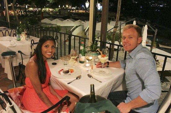 Covo Dei Saraceni: Dining at hotel