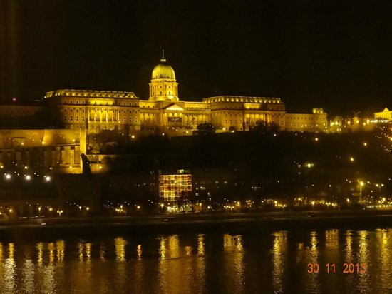 InterContinental Budapest : Vista do quarto