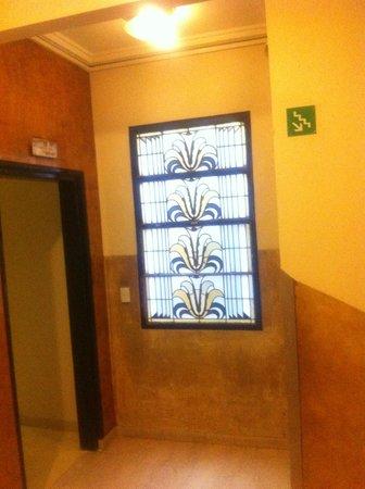 Gran Hotel Argentino: pasillo