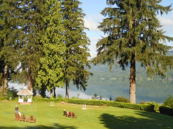 Lake Quinault Lodge: View from dining room