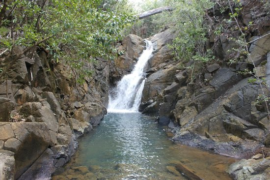 Siargao Divers Club: Wasserfälle