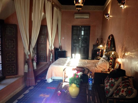 Riad Bahja: Our suite