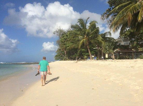 Savannah Beach Hotel: beach next to savannah … easy access to he sea
