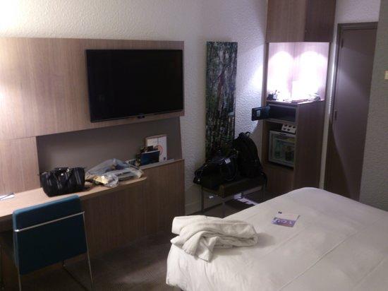 Novotel Fontainebleau Ury : chambre 1er étage