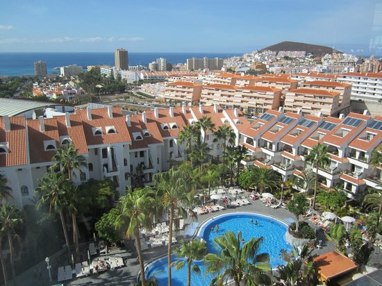 Paradise Park Fun Lifestyle Hotel: View from the adult only roof terrace