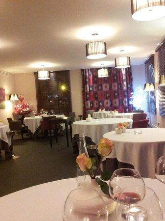 Hotel-Restaurant de la Poste : salle à manger