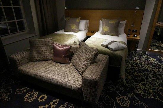 Apex Temple Court Hotel: Die zu weichen Betten!