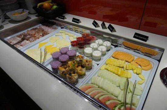 Apex Temple Court Hotel: Das Frühstücksbuffet: Kleine Auswahl, aber gute Qualität