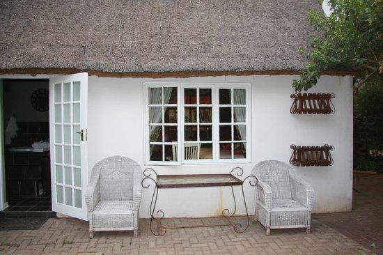 Little Eden Guest Lodge: Außenbereich Suite Nr. 10