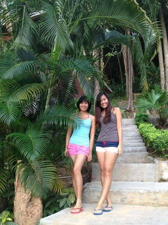 Kohhai Fantasy Resort & Spa : Outside of our room