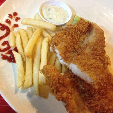 Kohhai Fantasy Resort & Spa : Fish & chips