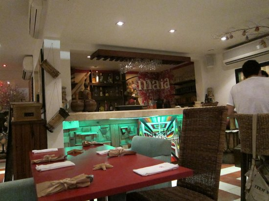 Maia restaurante: another view inside