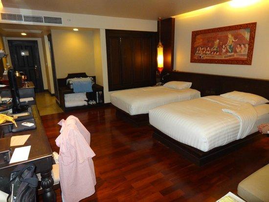 Siripanna Villa Resort & Spa: unser Standard-Zimmer