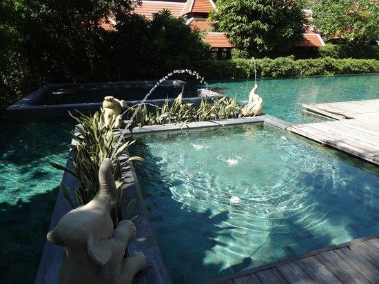 Siripanna Villa Resort and Spa Chiang Mai: wie ein Privatpool ! so ruhig