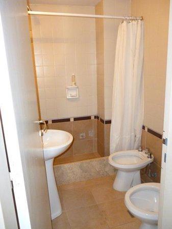 Sol Andino Hotel: Vista del baño de la habitación