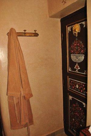 Riad Palais des Princesses : The original door of my second room