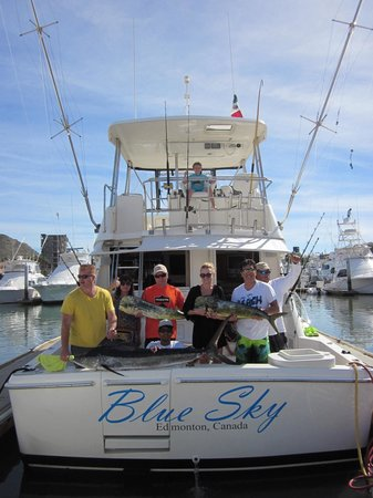 Blue Sky Cabo Fishing and Tours: Great times and so many fish on Blue Sky Cabo!