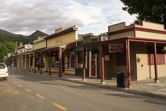 Settlers Cottage Motel: le village d'Arrowtown