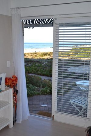 Absolute Beach Accommodation: View from the room