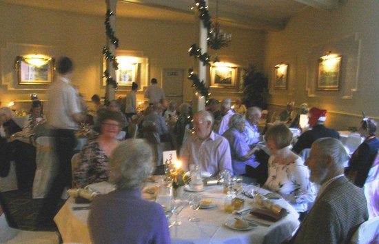 Best Western Limpley Stoke Hotel : Our Christmas lunch