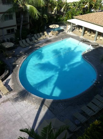 WorldMark Kona: Daylight pool from our lanai