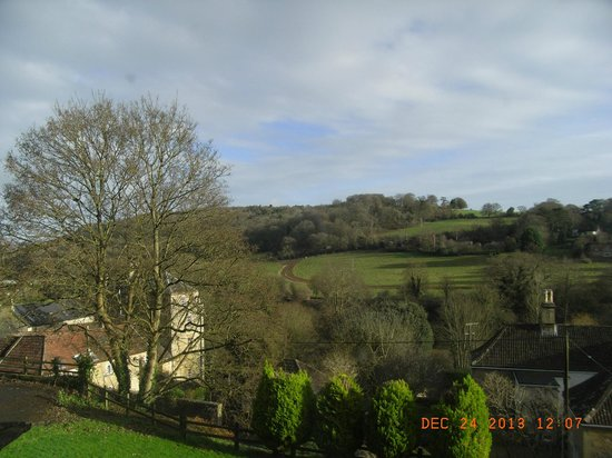 Best Western Limpley Stoke Hotel : View from our bedroom