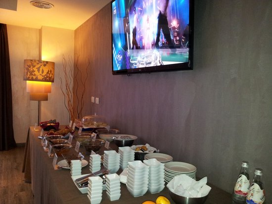 Turin Airport Hotel & Residence: Buffet