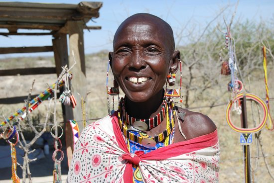 Rift Valley Province, Κένυα: Masai woman