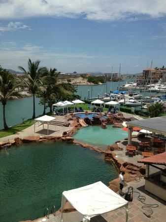 El Cid Marina Beach Hotel: Vista desde habitación