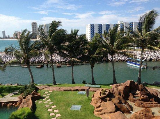 El Cid Marina Beach Hotel: Vista desde la habitación