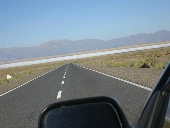 llegando a las Salinas Grandes