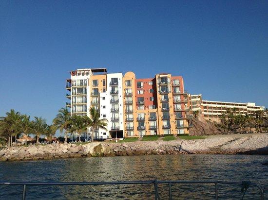 El Cid Marina Beach Hotel: Saliendo de la Marina