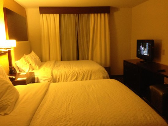 Embassy Suites by Hilton Savannah Airport: Nice Queen Beds