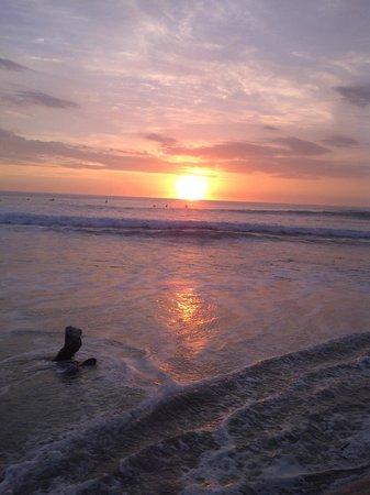 Nosara Beach (Playa Guiones): Sunset