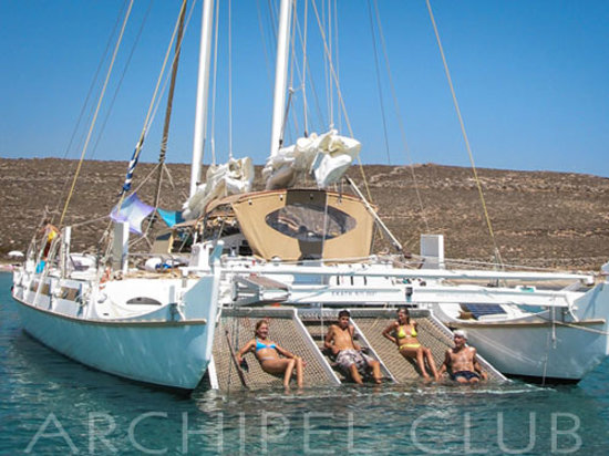 Archipel Club: Our Best seller Pahi 53 catamaran