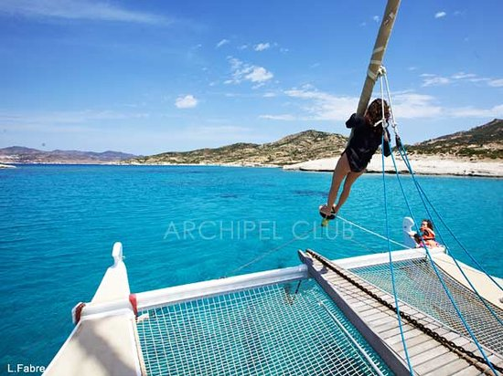 Archipel Club: Fun cabin charter sailing.
