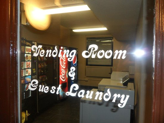 Quality Inn: Vending & Guest Laundry