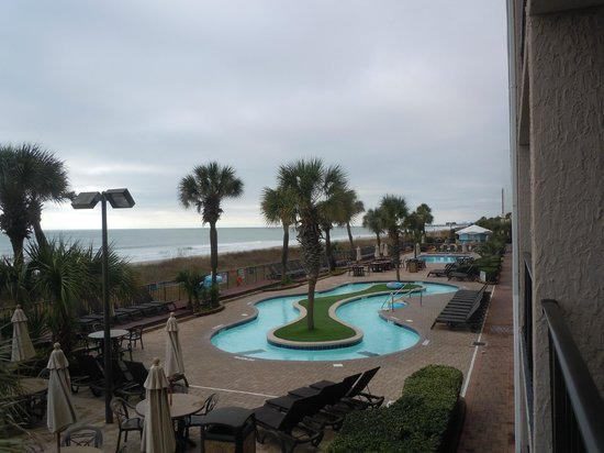 Compass Cove Oceanfront Resort : Outdoor Lazy River
